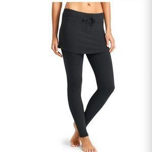 Athleta 'Exhale' Organic Cotton Skirt w/ Leggings